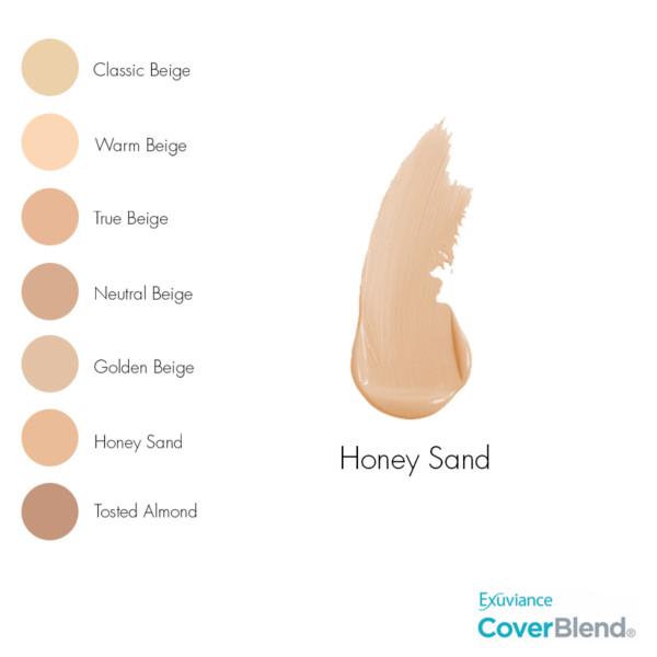 Skin Caring Foundation - Honey Sand-2835