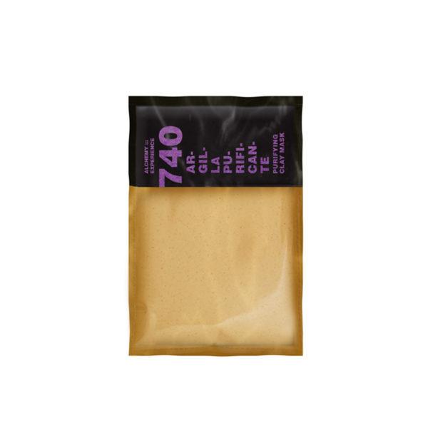 argilla purificante 740 5 buste monodose 20 ml alchemy