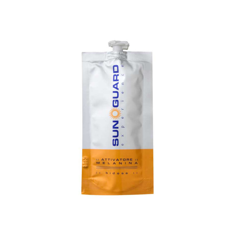 attivatore di melanina 7 buste 25 ml sun guard experience