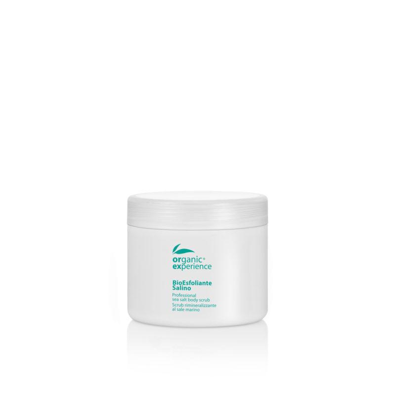 bio esfoliante salino vaso 500 ml organic experience