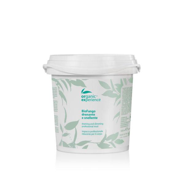 bio fango drenante e snellente secchio 1800 ml organic