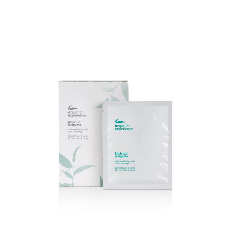 bio scrub levigante 5 buste 50 ml organic experience