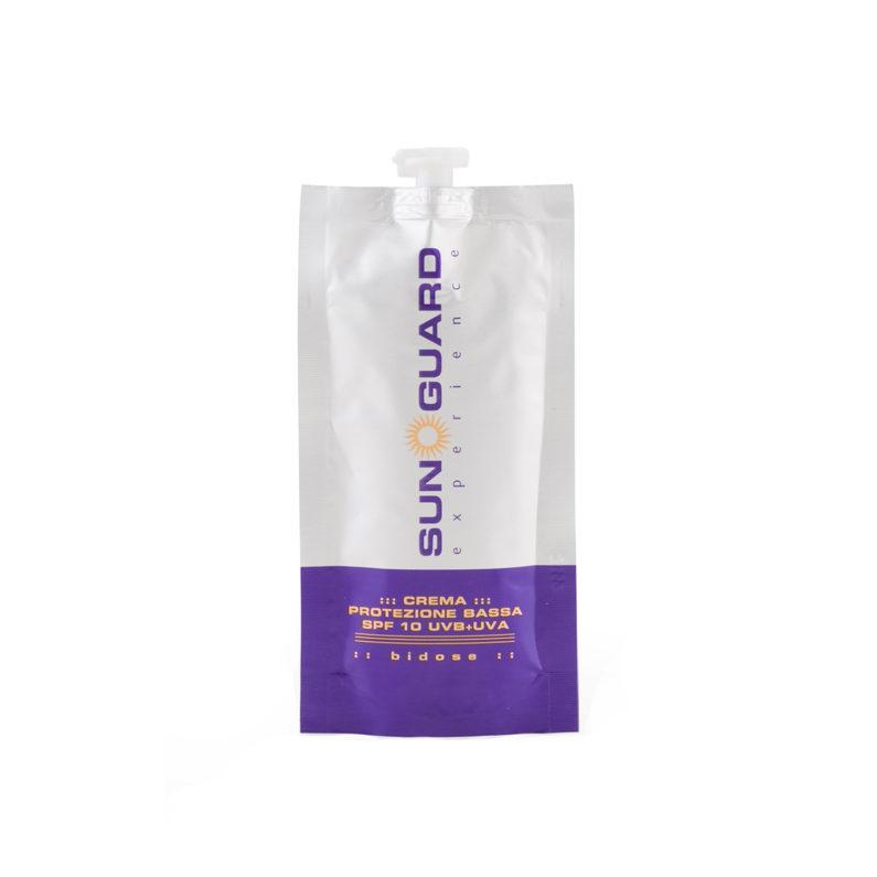 crema protezione bassa spf10 7 buste 25 ml sun guard experience