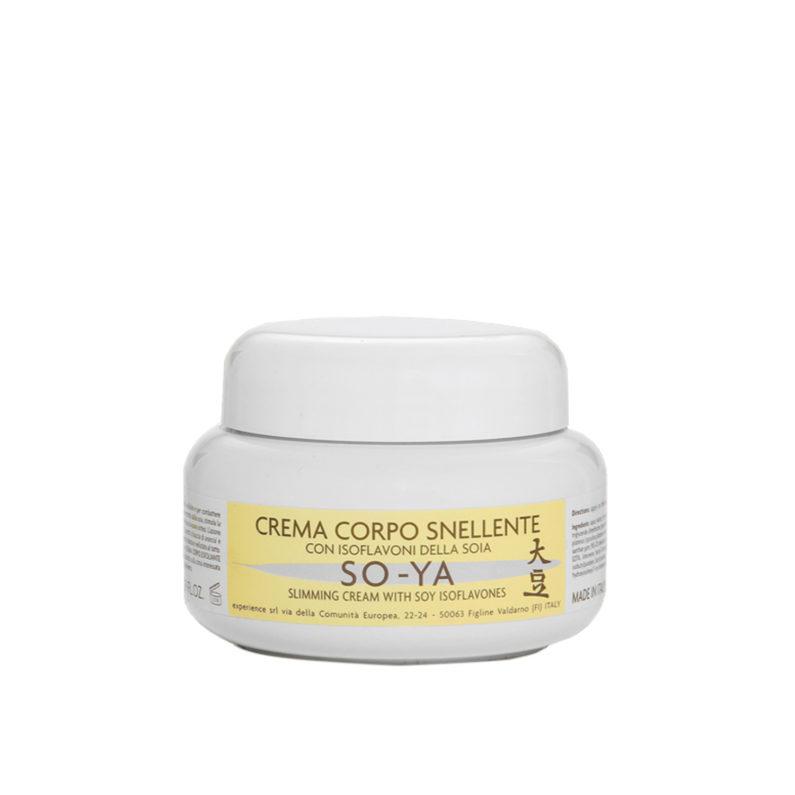 crema snellente con isoflavoni della soia vaso 500 ml so ya experience