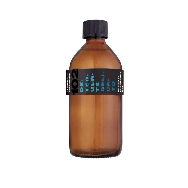 detergente delicato 102 bottiglia vetro ambrato 200 ml alchemy