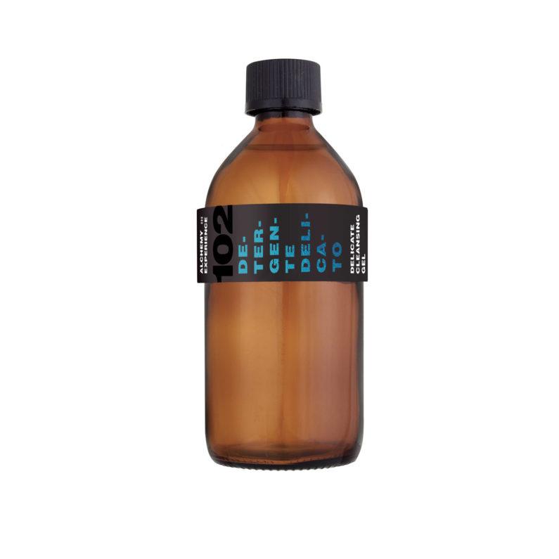 detergente delicato 102 bottiglia vetro ambrato 200 ml alchemy experience