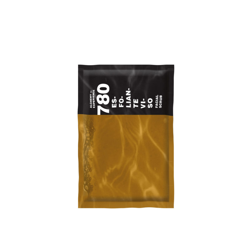esfoliante viso 780 5 buste monodose 15 ml alchemy experience