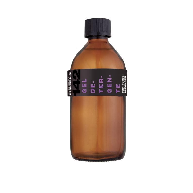 gel detergente 142 bottiglia vetro ambrato 200 ml alchemy experience
