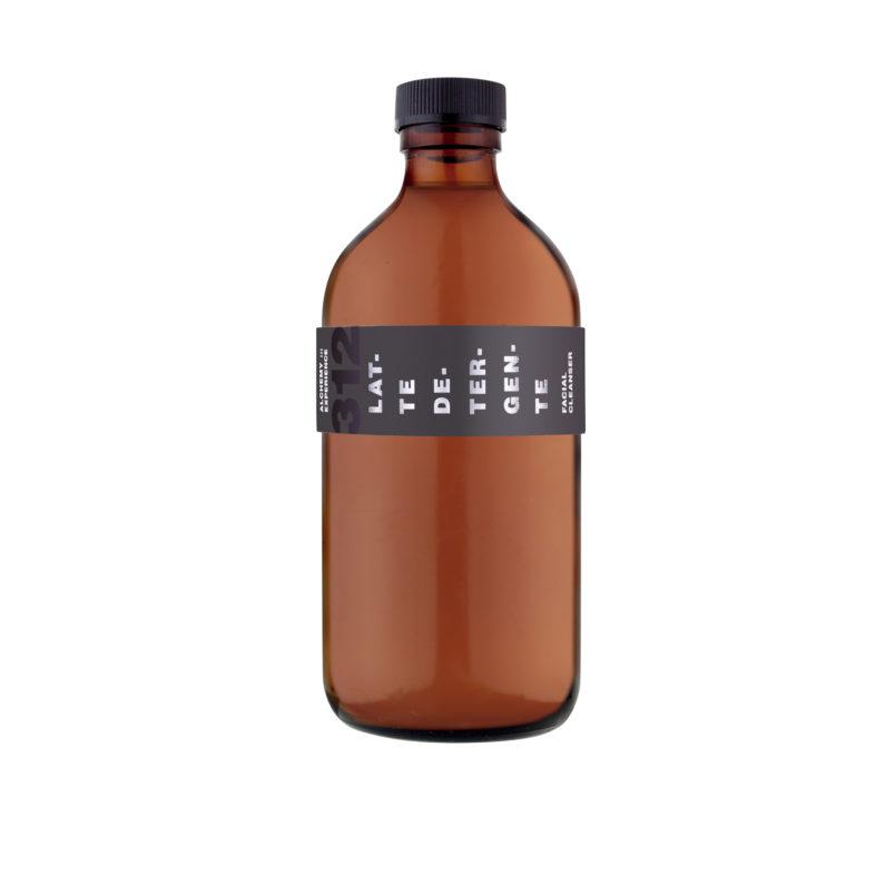 latte detergente312 bottiglia vetro ambrato 500 ml alchemy experience