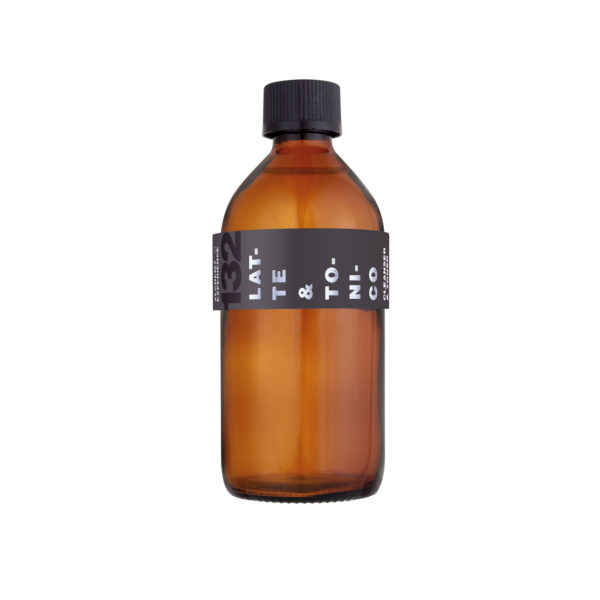 latte e tonico132 bottiglia vetro ambrato 200 ml alchemy