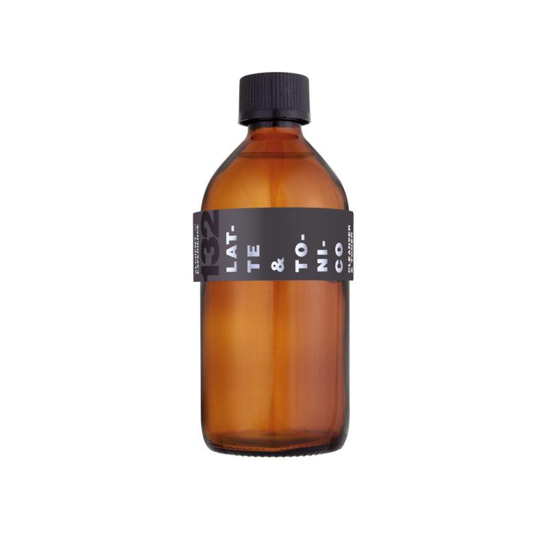 latte e tonico132 bottiglia vetro ambrato 200 ml alchemy experience