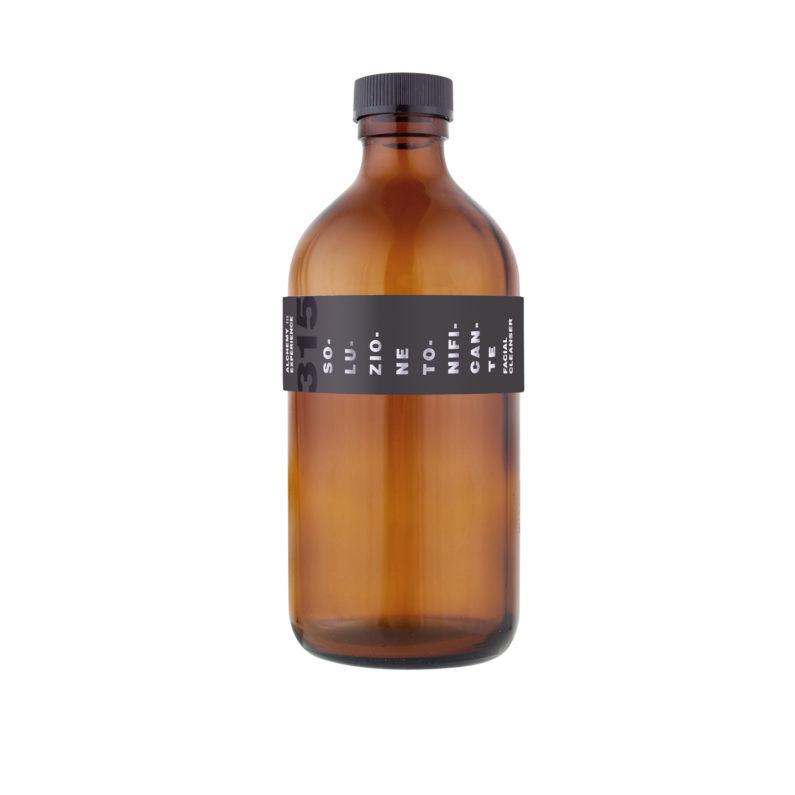 soluzione tonificante 315 bottiglia vetro ambrato 500 ml alchemy experience