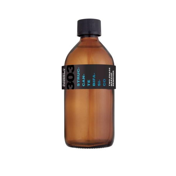 struccante bifasico 303 bottiglia vetro ambrato 200 ml alchemy
