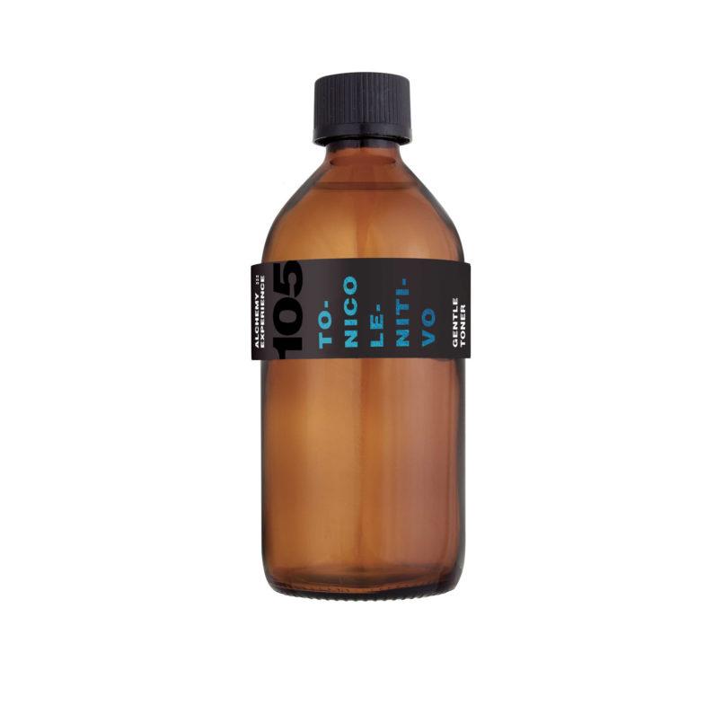 tonico lenitivo 105 bottiglia vetro ambrato 200 ml alchemy experience